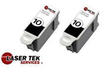 2PK Black 8237216 Ink Cartridge Kodak 10XL for Kodak Easyshare 5100 5300 5500