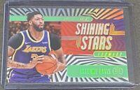 2019-20 Panini Illusions Anthony Davis Shining Stars EMERALD Lakers #19 SP 🔥