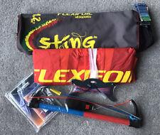 Flexifoil Sting 1.2m Kites Sport Kite With 2- Line Bar Option  BNWT