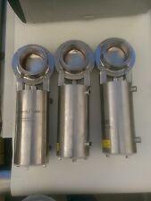 (3) Stainless Steel Waukesha 3