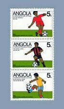 Angola 1989 - 10th National Football Championship - complete set MNH