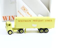 Whitman Freight Lines Vintage, Early Winross Model USA Made