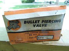 NOS Bullet Piercing Valve Part # B.P.V. 31 Set of Ten Single Boxed