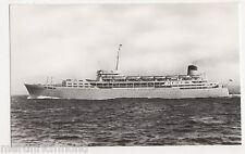 S.S. Southern Cross, Shaw Savill Line Shipping RP Postcard, B570