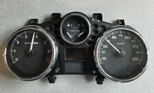 Peugeot 206 1,4 9673799480 Tachometer combi instrumento velocímetro año 2010