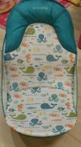 Summer Baby Bath Bather Seat Chair Tub Support Newborn Sink Bath Shower Stand
