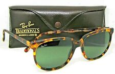Ray-Ban USA Vintage 80s B&L TraditionalS Style 3 Leopard W1595 Exclnt Sunglasses