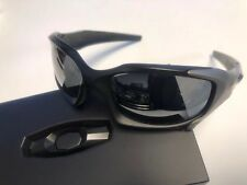 Oakley Pit Boss Matte Black/Titanium Lens Black Iridium Polarized