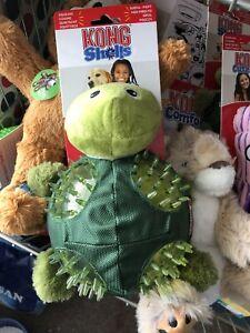 KONG Shells Turtle Dog Toy, Large
