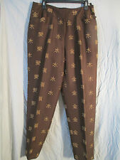 Fantastic looking 100 % silk pants size 14,by August Silk