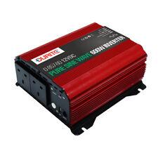 600W Durite 0-857-60 12V DC to 230V AC Compact Sine Wave Voltage Inverter