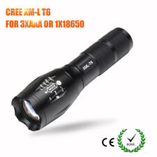 CREE XM-L T6 Led Flashlight 3800 Lumens Led Torch Zoomable Waterproof Flashlight