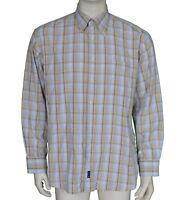 GANT Pinoint Oxford Regular Fit Check L/S Shirt Men's Size XL