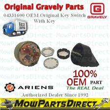 Genuine Gravely Ignition Switch Kit OEM# 04331600 Original Not Aftermarket w/Key