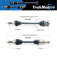 Surtrack 2PCS FRONT LEFT/RIGHT Cv Axle Shaft For 2009-2017 for GT-R