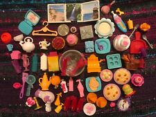 60+ Lot Doll House Food and Accessories Mattel & Other #DF2