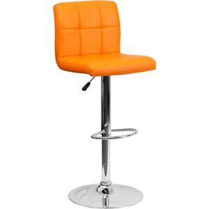 Flash Furniture Orange Contemporary Barstool, Orange - DS-810-MOD-ORG-GG