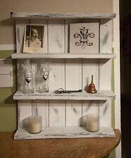 Hängeregal * Gewürzregal * Tassenregal * vintage * Shabby Landhaus Style weiß