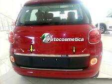 Modanatura portabagagli SPECIFICA Fiat 500L  baule bagagliaio acciaio cromo