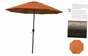 California Umbrella ATA908117-SA17 9' Round Aluminum, Pacifica Tuscan Tusan
