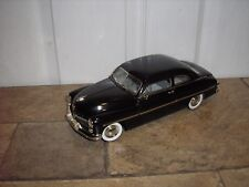 1/18 Ertl American Muscle 1949 LEADSLED Mercury Cruiser Black No Box FREE SHIP