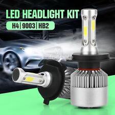 2X 12V~24V LED H4 HB2 9003 Headlight High Low Beam Lamp 6000K White High Power