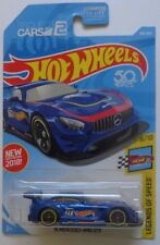 2018 Hot Wheels LEDGENDS OF SPEED 6/10 '16 Mercedes AMG GT3 196/365