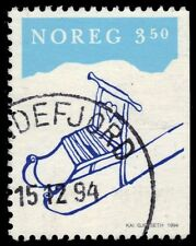 """NORWAY 1071 - Christmas """"Kick Sled"""" Issue (pa47768)"""