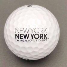 New York New York Hotel & Casino Logo Golf Ball (1) Srixon Trispeed Preowned