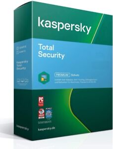 Kaspersky Total Security 2021 / 1PC - 5PC, 1 oder 2 Jahre / Multi Device