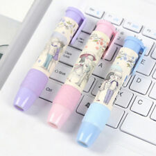 Designer Student Pen Shape Eraser Rubber Stationery Kid School Supplies AD1