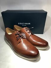 Cole Haan Orig Grand Wingtip C26471 Mens Oxford Brown Leather Shoes Choose Sz