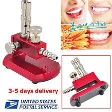 USPS free ship Dental Lab Micro Bunsen Burner Double Tube Rotatable Gas Light