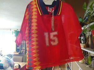 Adidas Layer Tee Spain CY0681 Womens XS Spain Soccer Jersey