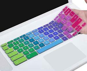 """Colorful Keyboard Cover Skin for Acer CB3 CB5 CP315 CB515 15.6"""" Chromebook, Acer"""
