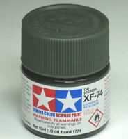 TAMIYA XF-74 olive drab 10 ML PEINTURE MAQUETTE MODELISME