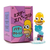 "Kidrobot The Simpsons Mr Sparkle 3"" Designer Vinyl Mini Figure Art Toy Scarce"