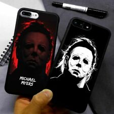 Halloween Hipster Michael Myers Silicone Case Cover For iPhone Samsung Galaxy