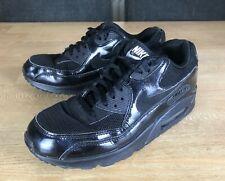Womens Ladies Black Nike Air Max 90 443817 002 - UK Size 6