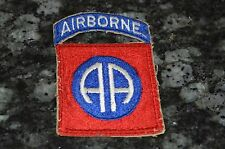 WWII ORIGINAL 82ND AIRBORNE PATCH!!! MUST SEE!!!