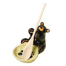 Demdaco 30150060 Big Sky Carvers Bear Spoon Holder New
