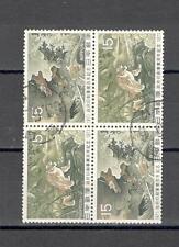 R4691 - GIAPPONE - BLOCCO ETEROGENEO TEMATICO VIAGGIATO 1971  - VEDI FOTO