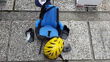 seggiolino per bici anteriore (davanti) e caschetto