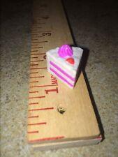 Barbie Piece Slice Birthday Cake Wedding Tyco Kitchen Littles Pink White Vanilla