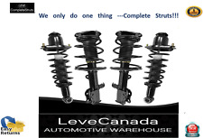 2003-2008 Toyota Corolla ( 4) Front  and Rear Complete Strut & Coil Spring