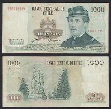 Chile   1000 Pesos  1993  Pick 154e  MBC = XF