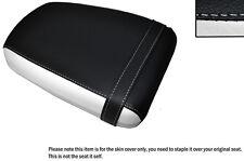 Diseño 3 Blanco Y Negro Custom encaja Suzuki Gz 125 Marauder Trasero Lthr cubierta de asiento