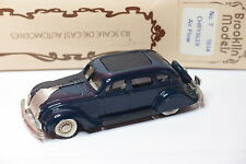 BROOKLIN N°7 CHRYSLER AIRFLOW 1934 BLEU 1/43