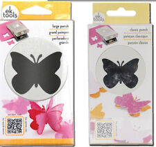 """Butterfly Slim Punch Set - Large 1.75"""" & Classic 1.25"""" Sizes by EK Success"""