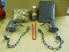 6-Duke DP Traps Coon Trapping Package w/ DP Setter & INSTRUCTIONAL DVD